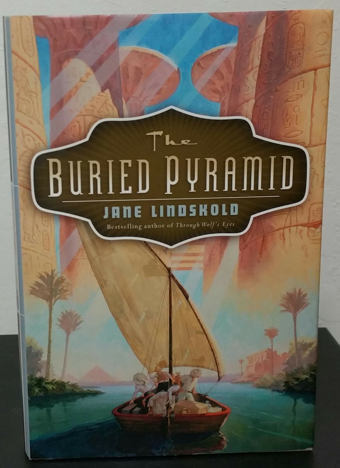 The Buried Pyramid by Jane Lindskold - Signed 1st Hb. Edn.