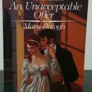 An Unacceptable Offer by Mary Balogh - 1st Pb. Edn.
