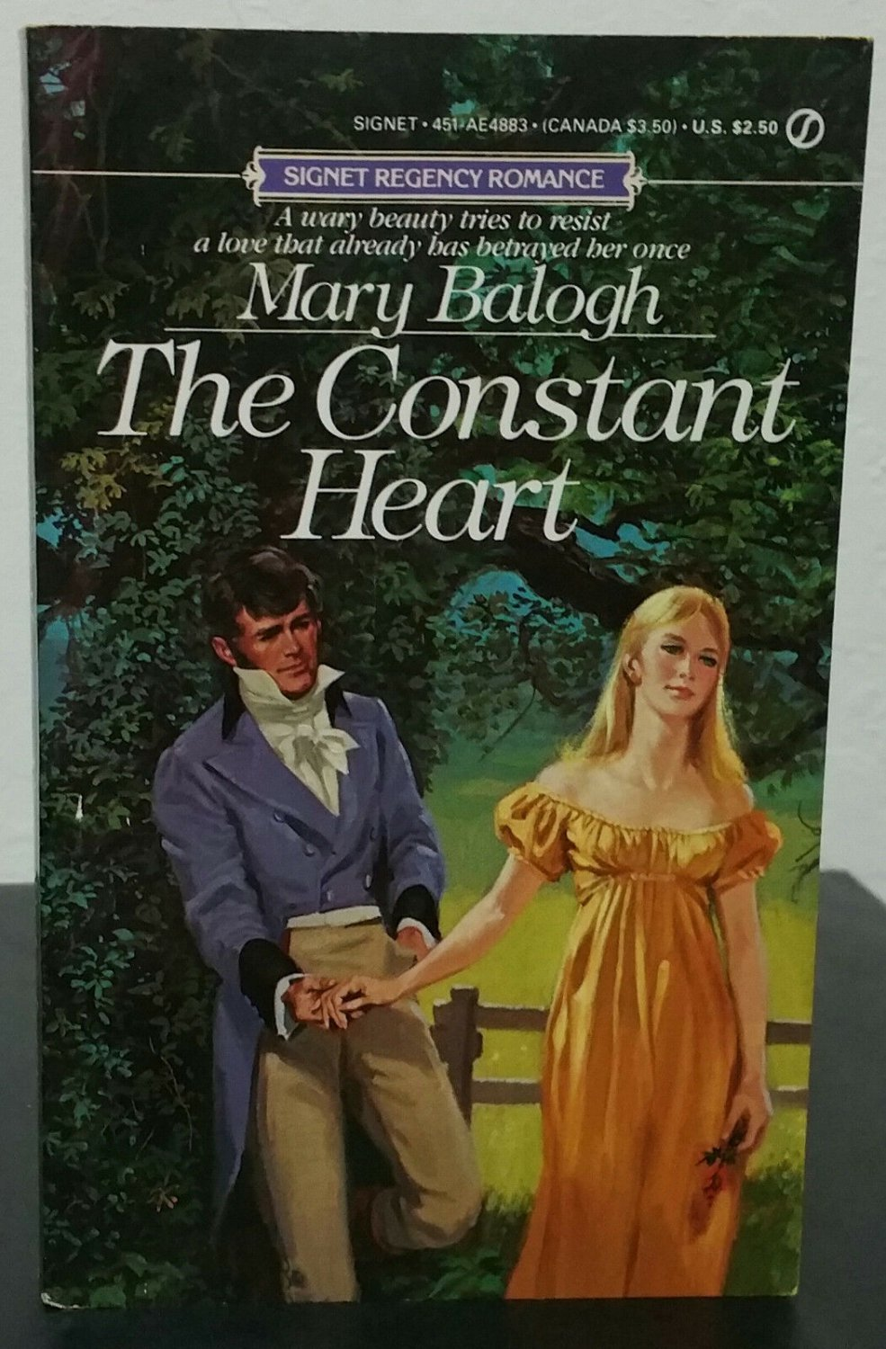 The Constant Heart by Mary Balogh - 1st Pb. Edn.