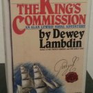 The King's Commission by Dewey Lambdin - 1st Hb. Edn.