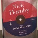 Triple Platinum by Nick Hornby - Signed 1st Hb Edn.