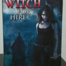 This Witch For Hire by Kim Harrison - Signed Bookclub Hb.