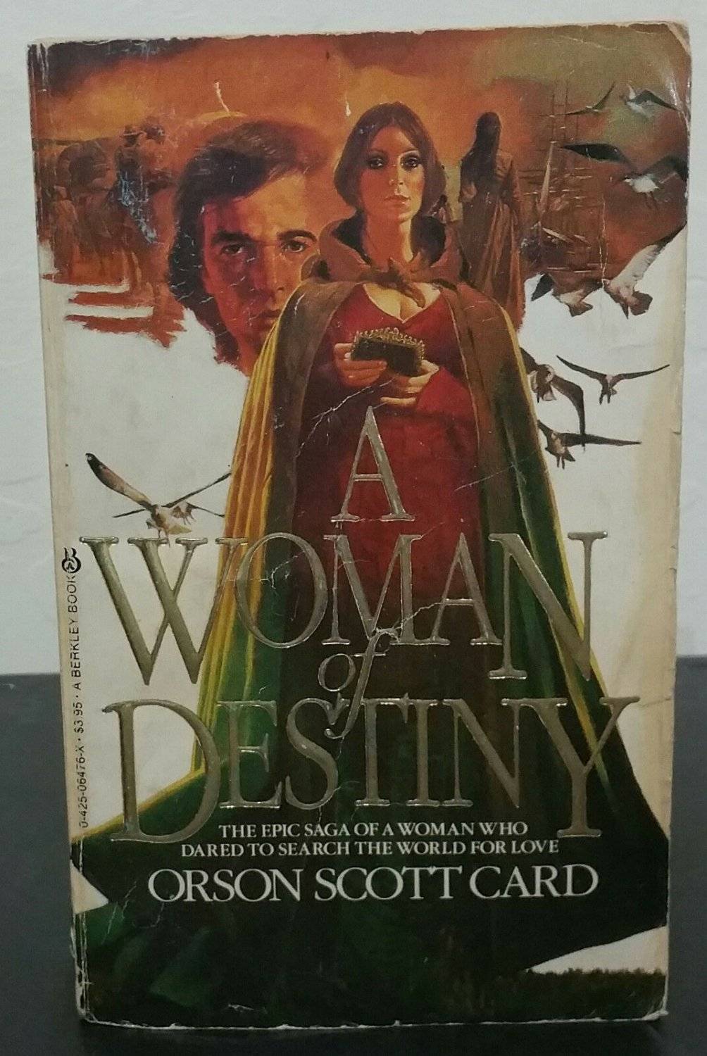 A Woman of Destiny aka Saints by Orson Scott Card - Signed 1st Pb. Edn.
