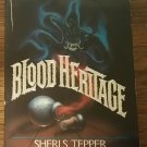 Blood Heritage by Sheri S. Tepper (1986, Paperback)