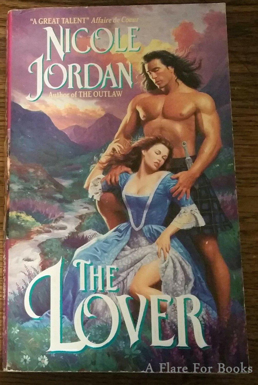 The Lover by Nicole Jordan - 1st Pb. Edn.