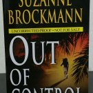 Out of Control by Suzanne Brockmann - Signed Uncorrected Proof