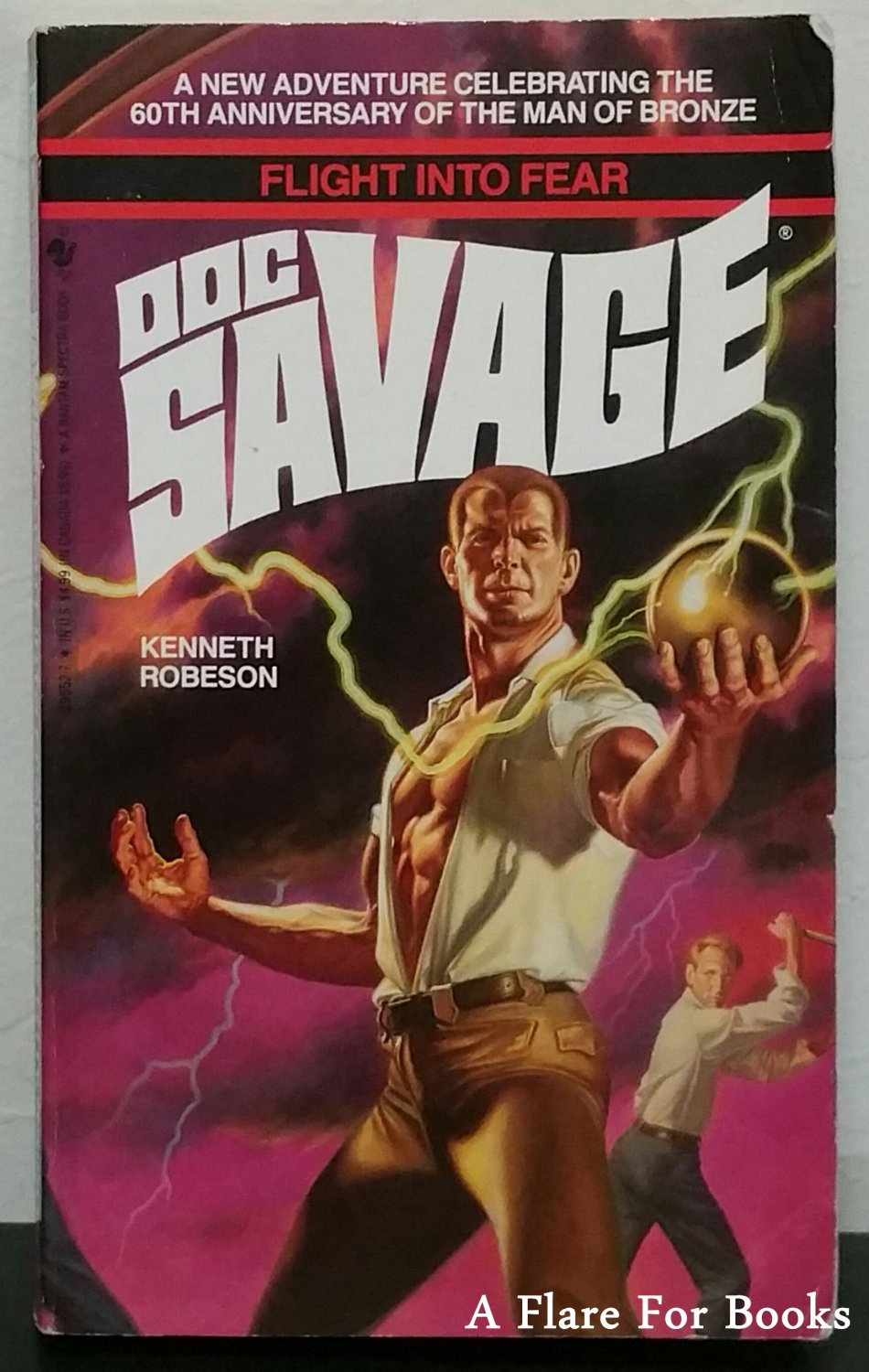 Doc Savage: Flight Into Fear by Kenneth Robeson