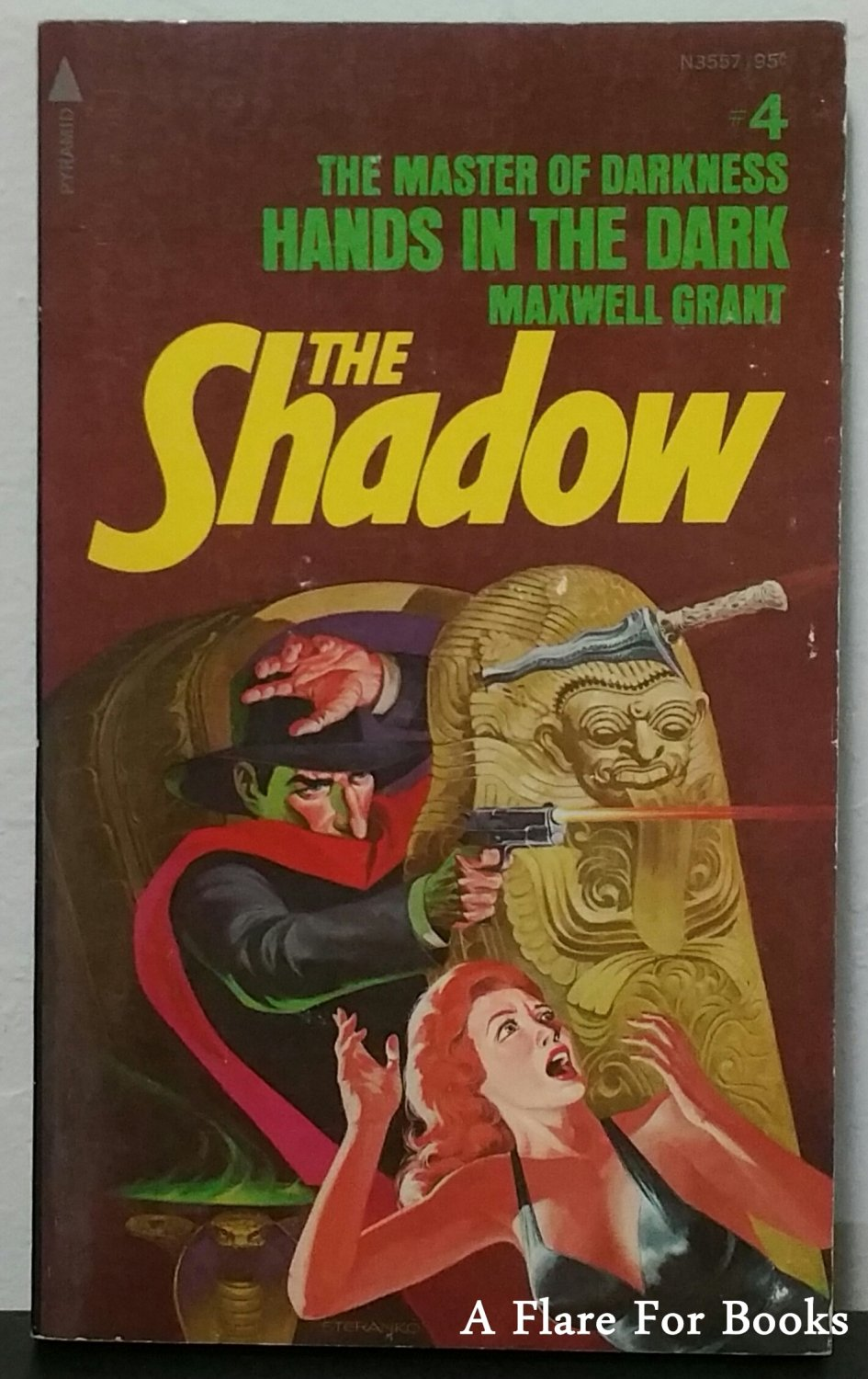 Hands in the Dark: The Shadow #4 by Maxwell Grant