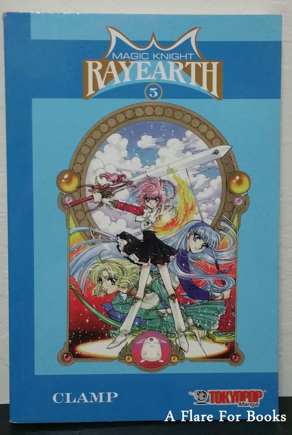 Magic Knight Rayearth vol. 5 by Clamp