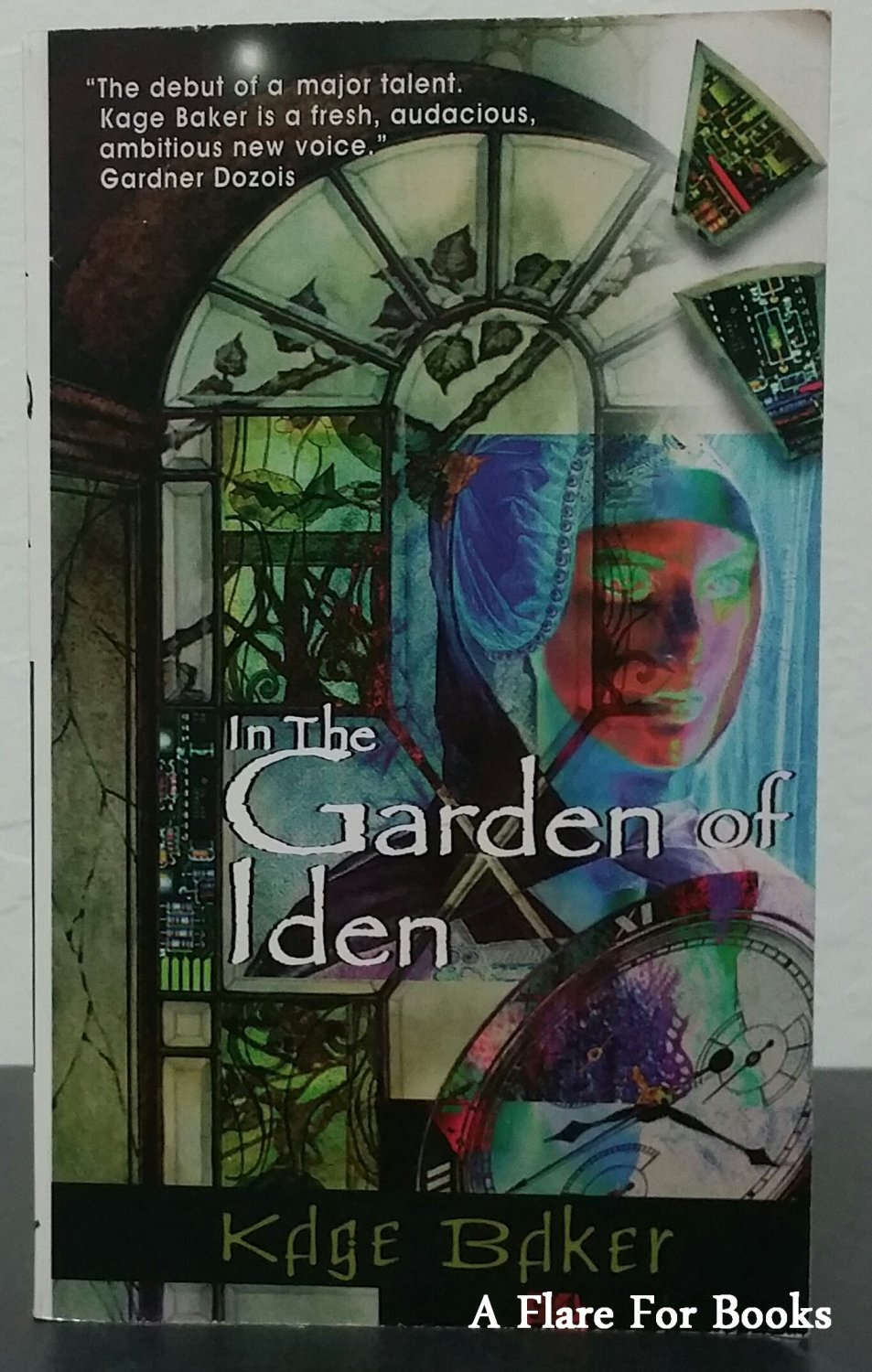 In The Garden of Iden by Kage Baker - Signed Paperback