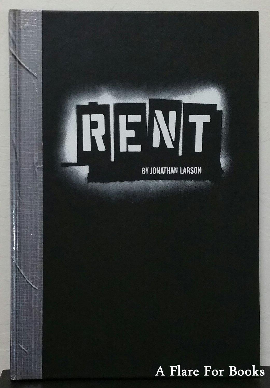 Rent by Jonathan Larson - 1st Hb. Edn.