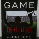 America's Game: The NFL at 100 by Jerry Rice and Randy O. Williams - Signed 1st Hb. Edn.
