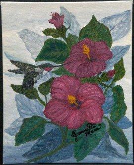 Humming Bird  20X24  Catalog p.3