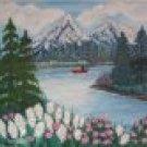 Mountain Lake fun  20X24  Catalog p.4