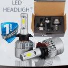 2x H7 Led Headlights 72W Bulbs Canbus 6500K White Mercedes C W204 8000Lumen