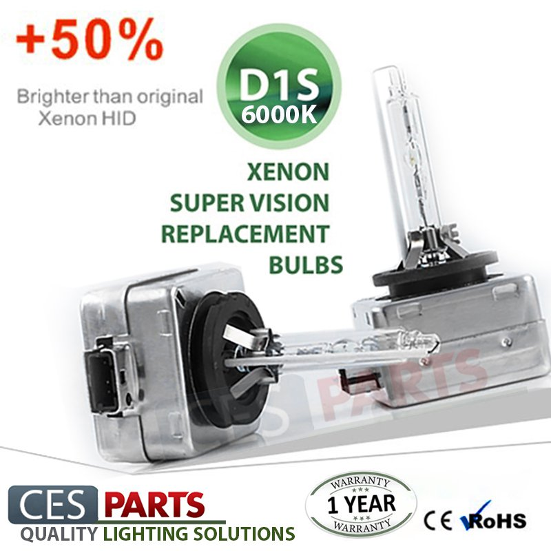 2x D1S XENON OEM REPLACEMENT 35W 6000K HID BULBS LOW BEAM FORD AUDI VW BMW MERCEDES VOLVO