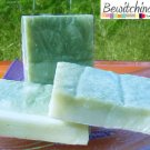 Chlorella Olive (Trial Soap)x 2 bars-- Cold Process Handmade Soap FREE SHIPPING