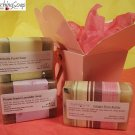 Soap Gift set of cold process soap Ginger Shea Butter, Chlorella, Lavender