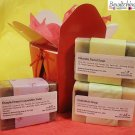 Soap Gift set of cold process soap Calendula, Chlorella, Lavender