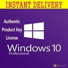 Windows 10 Pro 32\64 bits. Lifetime license key Soft Link INCLUDED