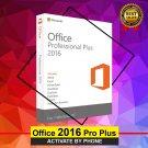 Office 2016 Pro 32\64 bits. Lifetime license key Soft Link INCLUDED