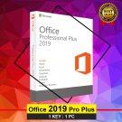 Microsoft Office 2019 Pro Plus 32 64 bit Lifetime KEY Soft Link INCLUDED