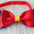 Snow White inspired Bow Elastic Band Girls Hair Accessories