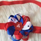 2pcs 4th of July inspired Girls Hair Accessories