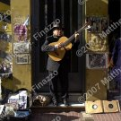 Tango Guitarist in Doorway 4 x 6""