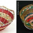 Maasai & Samburu Beaded Basket