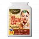 Skin Lightening And Nourish Blend 10:1 Extract 5000mg L-Glutathione Whitening 60 Pills