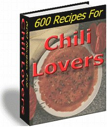 600 Chili Recipes 4 lovers - award winning - FREE SHIP