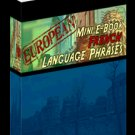 European Mini eBook FRENCH language phrases digital