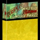 European Mini eBook GERMAN language phrases digital