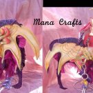 11 inch tall Fantasy dragon