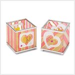 Heart's Delight Votive Holder