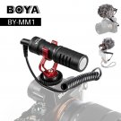BOYA BY-MM1 Camera Video Microphone Shotgun Mic for Zhiyun Smooth 4 DJI OSMO DSLR Camera iPhone 7 6
