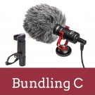 BOYA BY-MM1 Compact On-Camera Video Microphone Youtube Vlogging Recording Mic For IPhone Nikon Canon