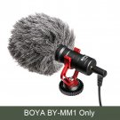 BOYA BY-MM1 Video Record Microphone for DSLR Camera Smartphone Osmo Pocket Youtube Vlogging Mic for