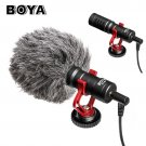 BOYA BY-MM1 Wireless Microphone Camera Video Microfone Stand for iPhone X DJI Osmo Pocket Zhiyun Smo