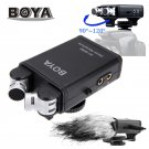 BOYA BY-SM80 stereo X/Y Microphone for use with DSLR cameras/video cameras Compact& lightweight Adju