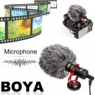 BOYA Compact On-Camera Video Microphone Universal Interview Recording Mic For IOS For Android Smartp