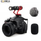 Comica CVM-VM10II Video Recording Mic On Camera / Phone Microphone for Canon Nikon Sony DSLR Camcord