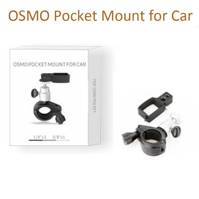DJI OSMO Pocket Handheld Gimbal Expansion Accessories OSMO Pocket Mount Bracket for Car bicycle Moto