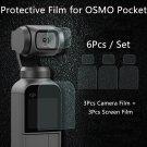 DJI OSMO Pocket Screen Film Camera Lens Protective Film Accessory for 4K Gimbal Phone Protector Film