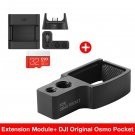 DJI Osmo Pocket Accessory Mount Extension Module for Osmo 4K 3-axis Gimbal Mounting Ring with 1/4 3/