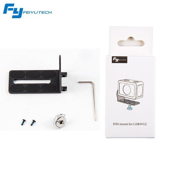 FeiyuTech Feiyu RXO Replacement Splint Adapter of Action Camera for G6 G5 WG2 Gimbal
