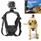 Fetch Dog Mount Harness Chest Strap Mount for Gopro Hero 7 6 5 4 session 3+ 3 SJCAM Xiaomi Yi 4K GO