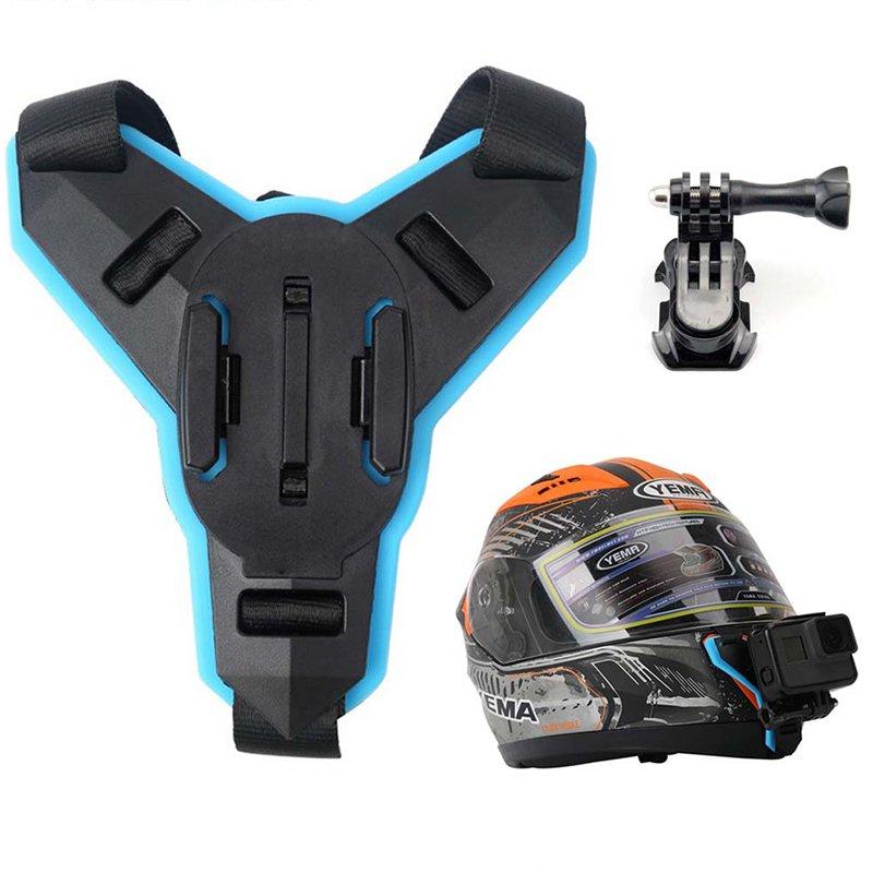 Full Face Helmet Chin Mount Holder for GoPro Hero 6 5 SJCAM Motorcycle Helmet Chin Stand Camera Acce