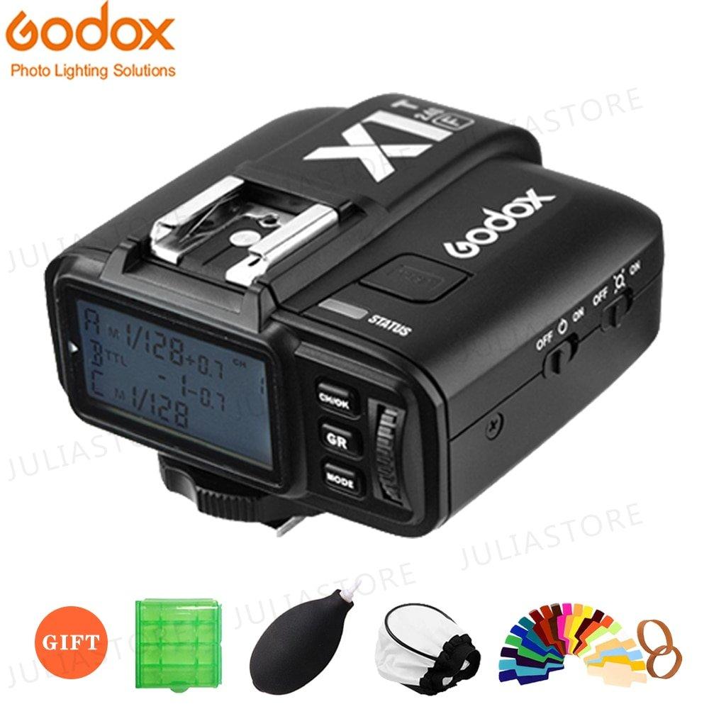 GODOX X1T-F X1T-C X1T-S X1T-O X1T-N 2.4G Wireless TTL HSS Flash Trigger Transmitter for Canon Nikon